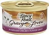 Fancy Feast Gravy Lovers Cat Food, Chicken, 3-Ounce (Pack of 24)