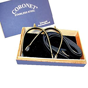 Coronet Women's Prince of Wales English Show Spurs with Boxed Spur/Leather Straps, 1 1/4-Inch