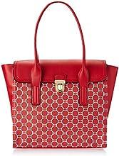Lavie Warblers Women's Tote Bag Handbag (Red)