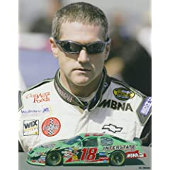 Bobby Labonte 8 X 10 Photograph Print - NASCAR Car # 18 by Swashcollectables
