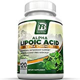 BRI Nutrition Alpha Lipoic Acid 250mg 120 Count Veggie Capsules - Universal Antioxidant High Potency - 120 Servings (Color: 120 Capsules, Tamaño: 120 Capsules)
