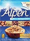 Alpen Muesli Cereal, No Sugar Added, 14 Ounce (Pack of 6)