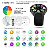 LEMFO-KW88-3G-Smart-Watch-Cell-Phone-All-in-One-MTK6580-Android-51-Quad-Core-WiFi-GPS-Heart-Rate-Monitor-Gray-Black