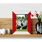 Exclusive Gift For Parents Day_For Special Mom And Dad_ Bed Side_Dual Color Red & White Photo Frame