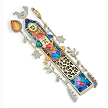 Seeka Ashrei Mezuzah from The Artazia Collection M1350A