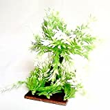 Veena Artificial bonsai of cup shaped leaves for love