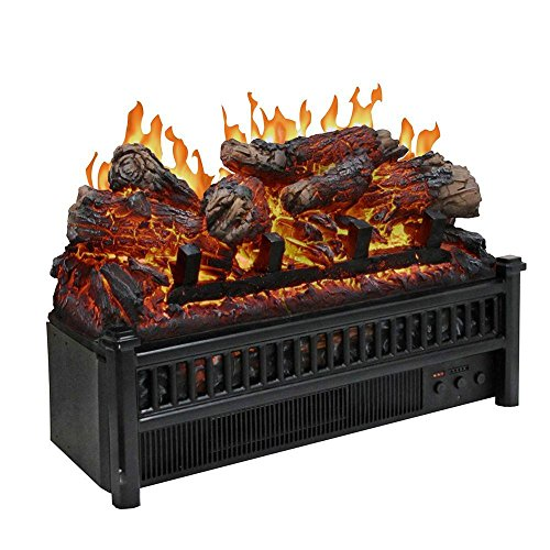 Pleasant Hearth LH-24 Electric Log Insert with Heater (Fireplace Log Electric compare prices)