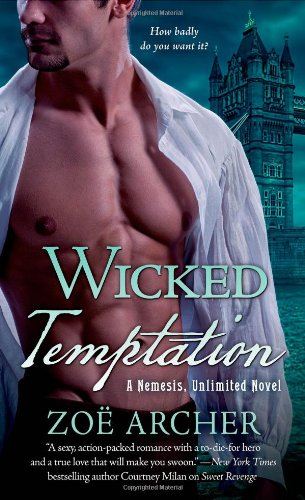 Image of Wicked Temptation: A Nemesis, Unlimited Novel