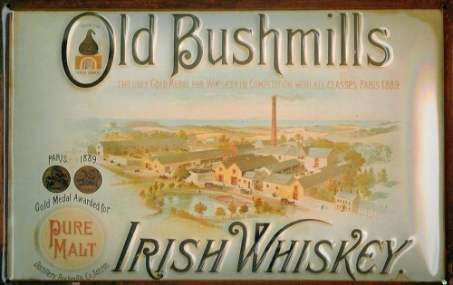 old-bushmills-irish-whiskey-fabbrica-targa-latta-simbolo-20-x-30-cm