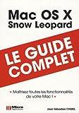 echange, troc Jean-Sébastien Cherel - Mac OS X Snow Leopard