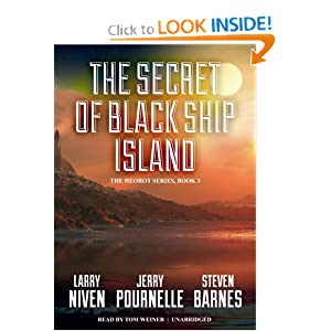 The Secret of Black Ship Island (Heorot series, Book 3) by Larry Niven, Jerry Pournelle, Steven Barnes and Tom Weiner