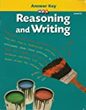 Reasoning and Writing - Additional Answer Key - Level E