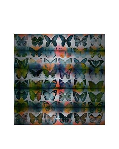 Parvez Taj Butterflies Squared Aluminum Wall Art