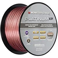 Monster Platinum XP Clear Jacket MKIII 100' Compact Speaker Cable (Clear/Copper)