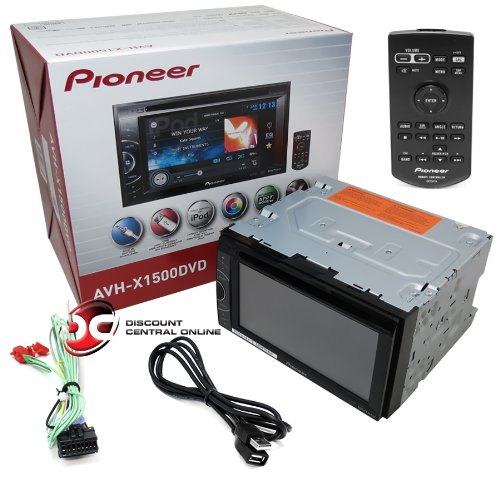 "2013 Pioneer Double DIN 2DIN 6.1"" Touchscreen Car DVD CD"