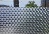 3D Effect Bubble Fancy Mosaic Door Privacy Film Protective For Company Office Fence Window