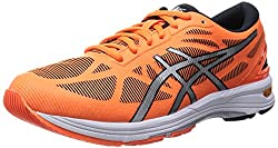 ASICS Womens Gel-Ds Trainer 20-Wide Flash Orange and Silver Mesh Running Shoes -9.5 UK/India (44 EU)(11.5 US)
