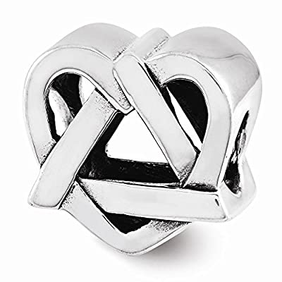Jewelry Best Seller Sterling Silver Adoption Symbol Bead