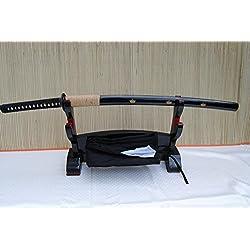 Gefaltetes Damaszener Samurai Schwert Katana TANKA