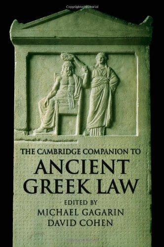 The Cambridge Companion to Ancient Greek Law (Cambridge...