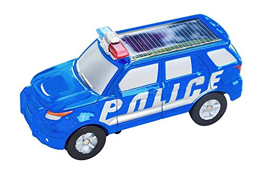 Solar Wholesale 5008 Solar Police Car with Versatile Wheel - 1