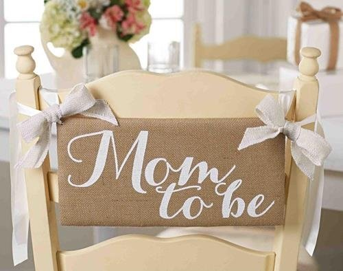mud pie mom to be chair hanger sign baby shower furniture chairs