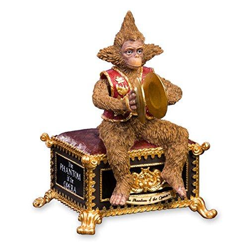 THE SAN FRANCISCO MUSIC BOX COMPANY Phantom of the Opera Monkey Figurine