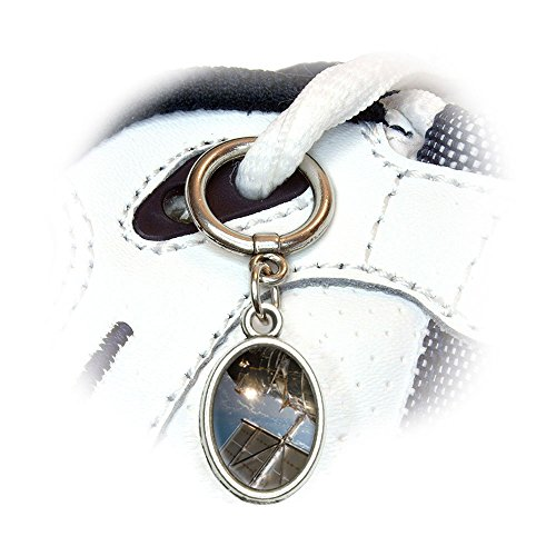 Hubble Telescope - Astronomy Space Shoe Sneaker Shoelace Oval Charm Decoration