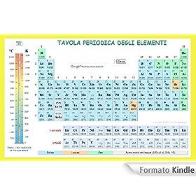Tavola periodica degli elementi ebook james conti kindle store - Tavola chimica degli elementi ...