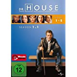 Dr. House - Season 1.1, Episoden 01-08 [3 DVDs]von &#34;Hugh Laurie&#34;