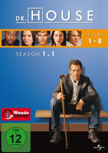 Dr. House - Season 1.1, Episoden 01-08 [3 DVDs]