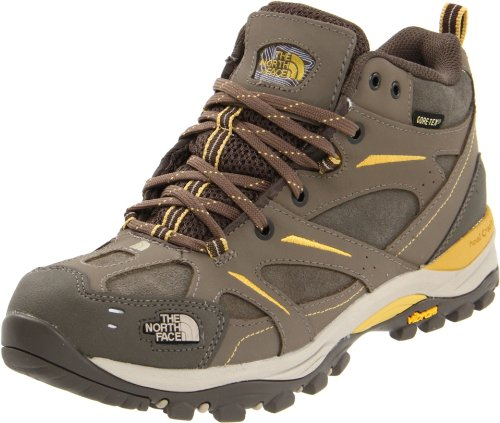 North Face Hedgehog Mid GTX XCR Womens Size 9.5 Brown Trail Running Shoes
