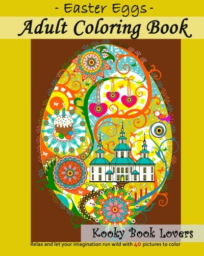 Adult Coloring Book - Easter Eggs