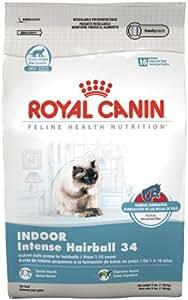 Royal Canin Dry Cat Food, Intense Hairball 34 Formula, 15-Pound Bag