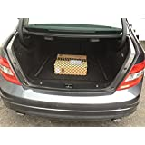 Envelope trunk cargo net for mercedes benz for Mercedes benz car trunk organizer