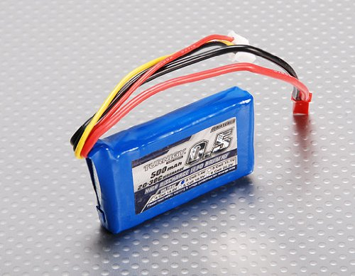 Turnigy 500mAh 2S 20C Lipo Pack - 1