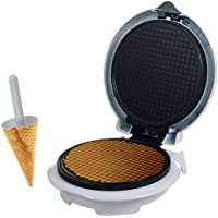 Chef Buddy 82-MM1234 Waffle Cone Maker with Cone Form (White)