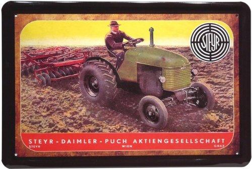 steyr-metallique-tracteur-daimler-puch-741-20-x-30-cm