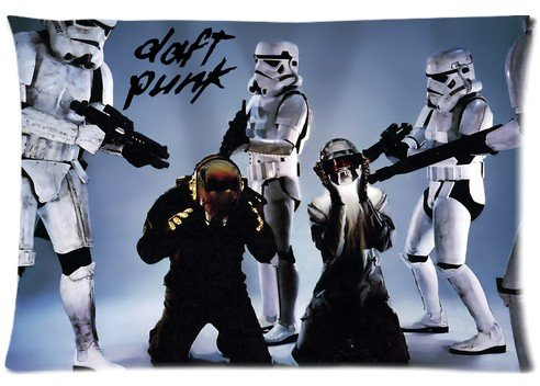 [B2CSELLER French electronic music duo Daft Punk Pillow case Covers Standard Size 20