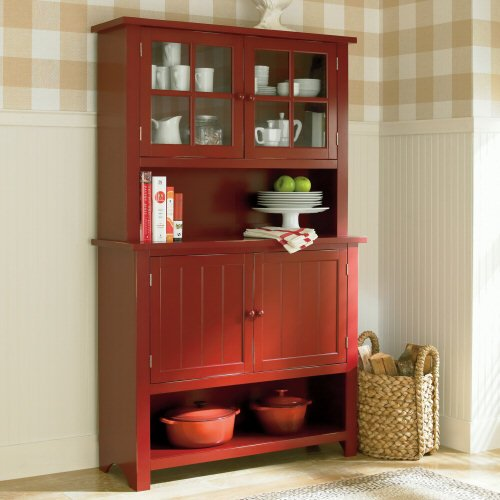 Cheapest Kitchen Buffet And Hutch, Hartford Storage   Black