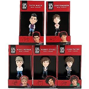 : 1D Mini Figure Set [Louis, Liam, Harry, Zayn, Niall]: Toys & Games