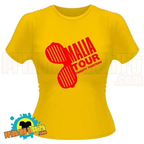 Malia tour 2013 sunglasses hen t shirt