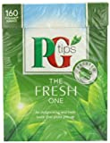 PG Tips The Fresh One Pyramid Teabags (Pack of 4, Total 640 Teabags)