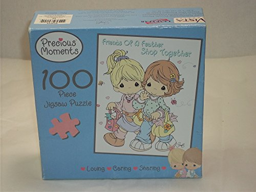 Precious Moments 100pc. Puzzle-Friends Are The Key To Happiness - 1