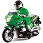 RC Speed Motorcycle Remote Control Motor Bike Racer for Kids with Rider Model Autocycle Scale RT@222MT01G