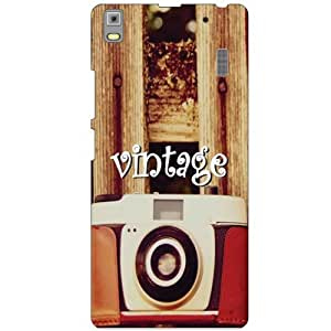 Printland Vintage Phone Cover For Lenovo A7000 PA030023IN