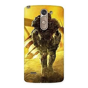Ajay Enterprises Heavy Robot Back Case Cover for LG G3 Stylus