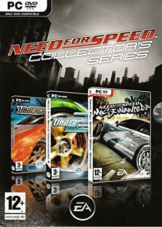 Need for Speed: Collectors Series - Includes Underground 1, 2  and Most Wanted (PC DVD)
