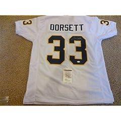 Tony Dorsett Autographed Jersey - White - JSA Certified - Autographed College Jerseys