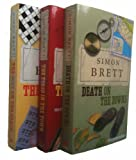 Simon Brett Simon Brett Fethering Mysteries: 3 books - 1, 2, 3 (The Body on the Beach / The Torso in the Town / Death on the Downs rrp £20.97)